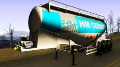 HM Cement Trailer