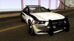 Dodge Charger 2012 LSPD para GTA San Andreas