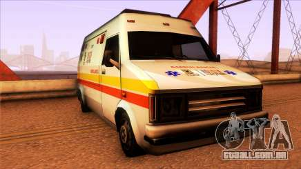 Ambulancia Rumpo Colombiana para GTA San Andreas