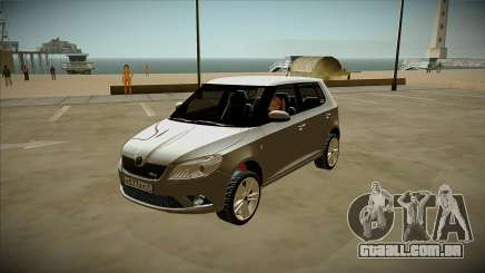 Skoda Fabia para GTA San Andreas