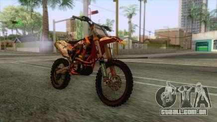 KTM 450 SF-X Redbull para GTA San Andreas