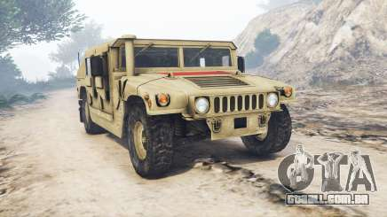 HMMWV M-1116 Unarmed Desert [replace] para GTA 5