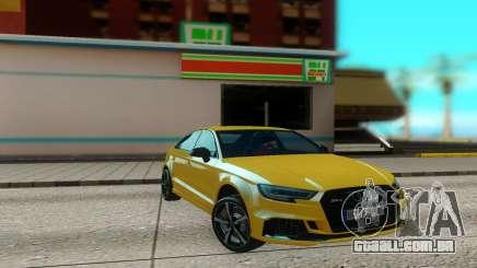 Audi RS3 Sedan 2017 para GTA San Andreas