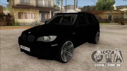 BMW X5M Gordey para GTA San Andreas