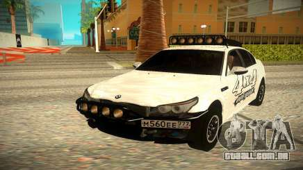 BMW M5 E60 Off-Road para GTA San Andreas