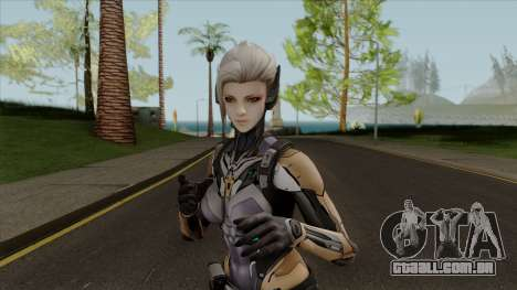 Reyko From Ghost in the Shell First Assault para GTA San Andreas