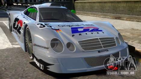 1998 Mercedes-Benz CLK LM para GTA 4