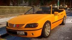 Taxi New Look para GTA 4