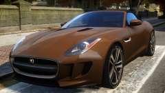 2014 Jaguar F-Type (EPM) para GTA 4