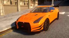 Fast And Furious Nissan GTR