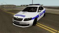 Skoda Octavia Mk3 Policija