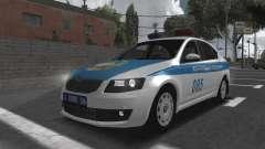 Skoda Octavia Mk3 Kazakh Police para GTA San Andreas