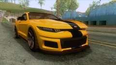 GTA 5 - Vapid Dominator GT350R IVF para GTA San Andreas