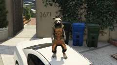 Rocket Raccoon from Guardians of the Galaxy para GTA 5