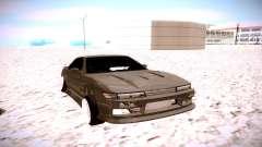 Nissan Silvia S13 серый para GTA San Andreas