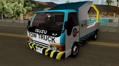 Isuzu ELF Philippine Government Tow Truck para GTA San Andreas