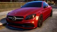 Mercedes-Benz AMG C63S Coupe para GTA 4
