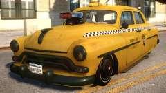 Quicksilver Windsor Taxi para GTA 4