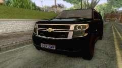 Chevrolet Suburban FBI 2015 para GTA San Andreas
