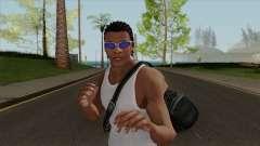 Franklin Clinton Robber Style GTA V para GTA San Andreas