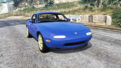 Mazda MX-5 (NA) 1997 v1.1 [replace] para GTA 5