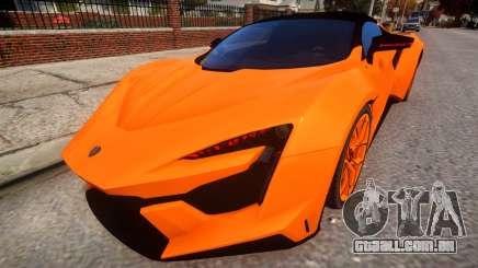 2017 W Motors Fenyr Supersports para GTA 4