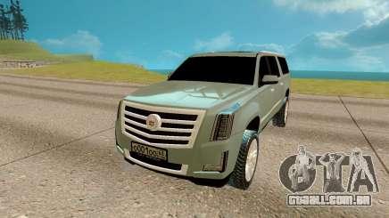 Cadillac Escalade 6.2 para GTA San Andreas