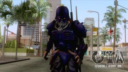 Kerberos Panzer Cop Blue Skin para GTA San Andreas