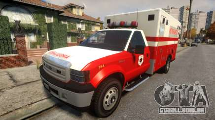 Vapid Sadler Ambulance para GTA 4