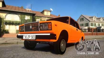 VAZ 2107 Full 583 para GTA 4