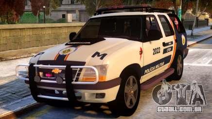 Chevrolet Blazer 2010 - GTOP PMDF para GTA 4