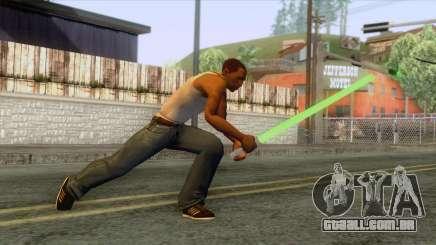 Star Wars - Green Lightsaber para GTA San Andreas