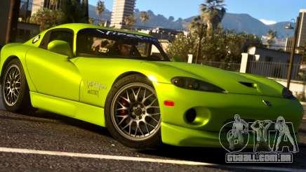 1999 Dodge Viper GTS ACR 1.4 para GTA 5