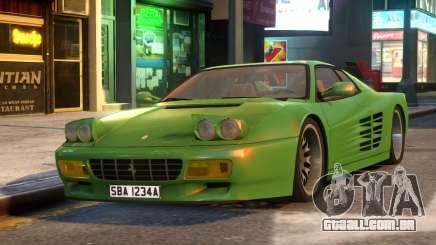 Ferrari TestaRossa 512 para GTA 4