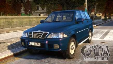 1999 Daewoo Musso HI-DLX para GTA 4