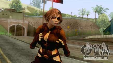 Deadpool - Domino Brown para GTA San Andreas