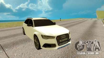 Audi RS 6 Avant para GTA San Andreas
