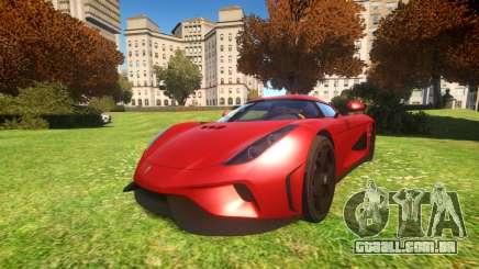 Koenigsegg Regera 16 para GTA 4