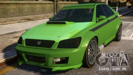 All New Karin Sultan RS GTA IV para GTA 4
