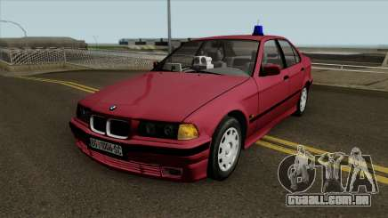 BMW 320i e36 Civil Police para GTA San Andreas