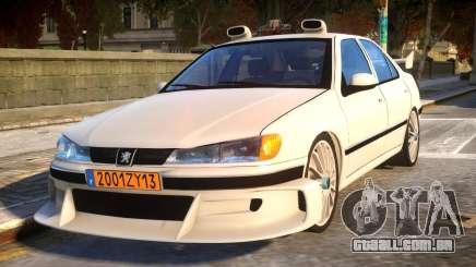 Peugeot 406 Taxi 2 para GTA 4