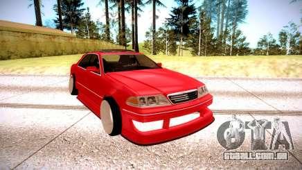 Toyota Mark 2 vermelho para GTA San Andreas