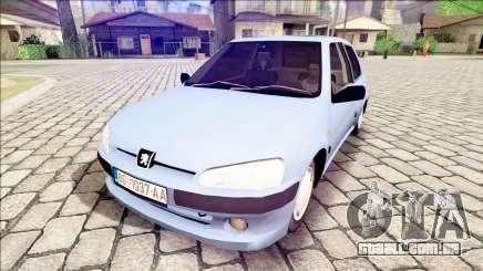 Peugeot 106 Stock para GTA San Andreas