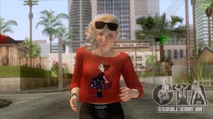 Sims 4 - Lana Casual Skin v2 para GTA San Andreas