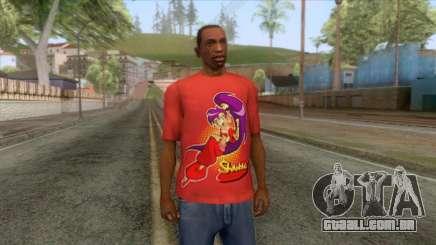 Shantae T-Shirt 3 para GTA San Andreas