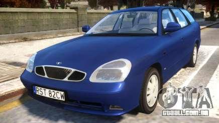 Daewoo Nubira II Wagon CDX PL 2000 para GTA 4