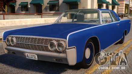 1962 Lincoln Continental para GTA 4