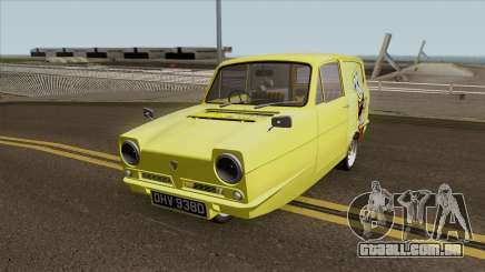 Reliant Robin Supervan III - Spongebob version para GTA San Andreas