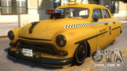 Quicksilver Windsor Taxi para GTA 4
