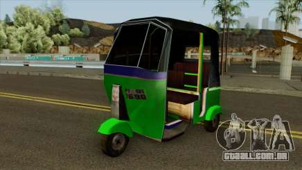 Indian Tuk Tuk Rickshaw (Indian Auto) para GTA San Andreas